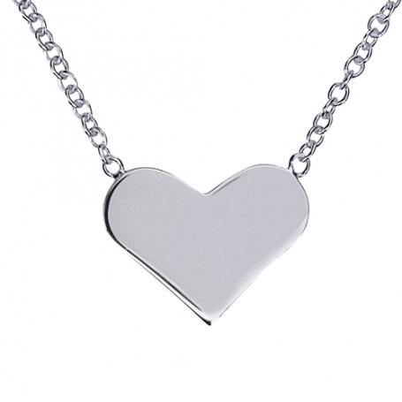 Halsband med hjärta 1-10-0092  Halsband 36cm till 50cm 399,00kr