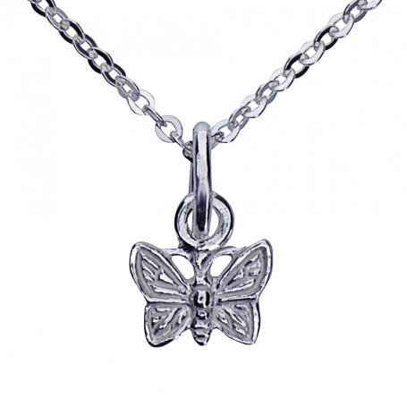 Fjäril med kedja 1-10-0093  Halsband 36cm till 50cm 169,00kr
