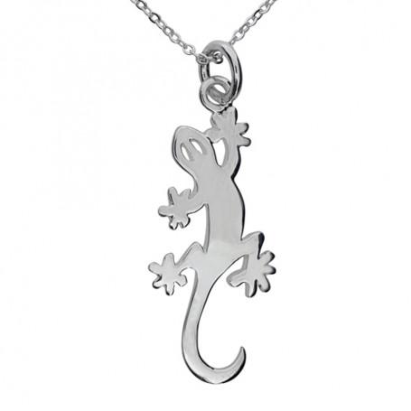 Smycke med ödla 1-10-0105  Halsband 36cm till 50cm 349,00kr