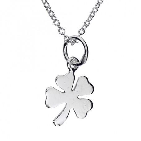 Halsband smycke lyckoklöver 1-10-0148  Halsband 36cm till 50cm 199,00kr