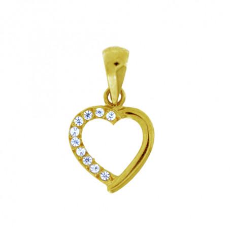 Smycke med hjärta i guld 5-10-0002  Hem 1,090.00