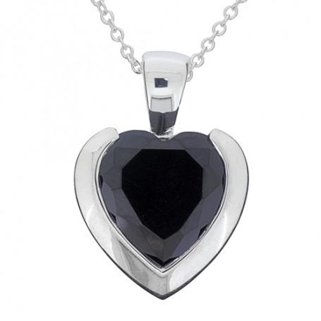 Black heart 1-10-0147  Halsband 36cm till 50cm 795,00kr