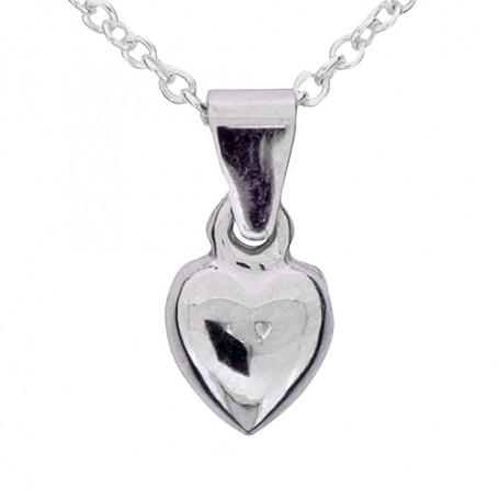 Halsband slätt hjärta 1-10-0159  Halsband 36cm till 50cm 199,00kr