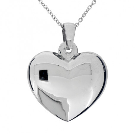 Halsband stort hjärta 1-10-0165  Halsband 36cm till 50cm 690,00kr