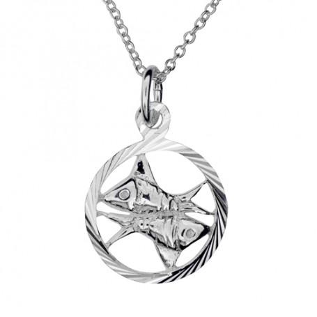 Stjärntecken fiskarna 1-10-0185  Halsband 36cm till 50cm 299,00kr