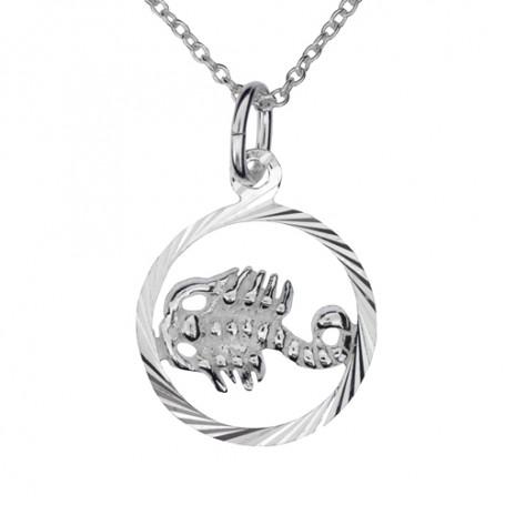 Stjärntecken skorpion 1-10-0193  Halsband 36cm till 50cm 299,00kr
