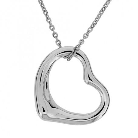 Heart medium SIC146  Halsband 36cm till 50cm 995,00kr