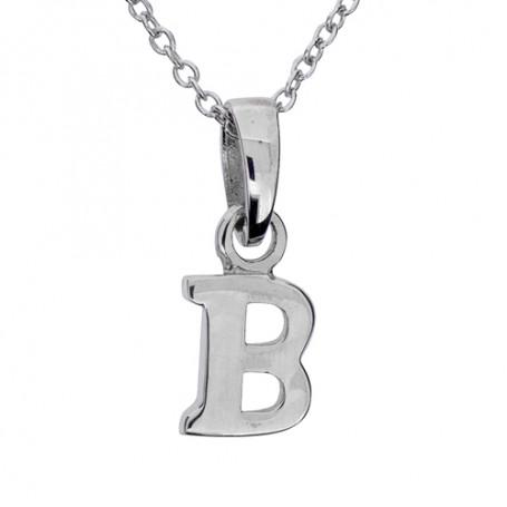 Halsband med bokstav B 1-25-0002K  Halsband 36cm till 50cm 229,00kr