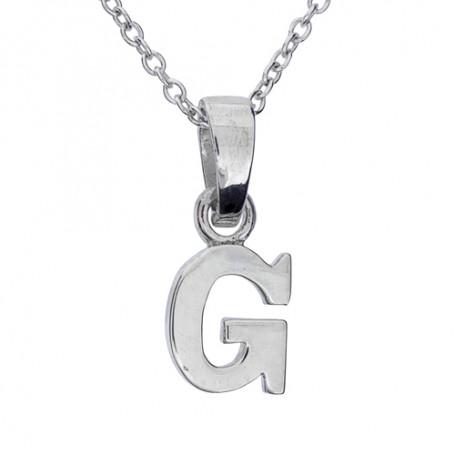 Halsband med bokstav G 1-25-0007K  Halsband 36cm till 50cm 229,00kr
