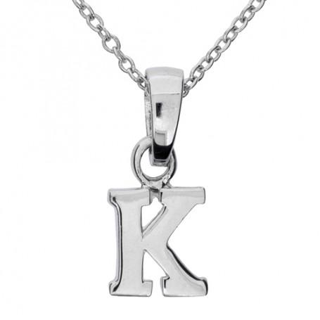 Halsband med bokstav K 1-25-0011K  Halsband 36cm till 50cm 249,00kr