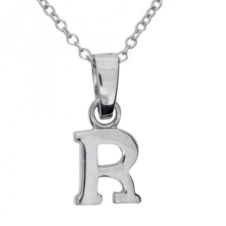 Halsband med bokstav R 1-25-0017K  Halsband 36cm till 50cm 249,00kr