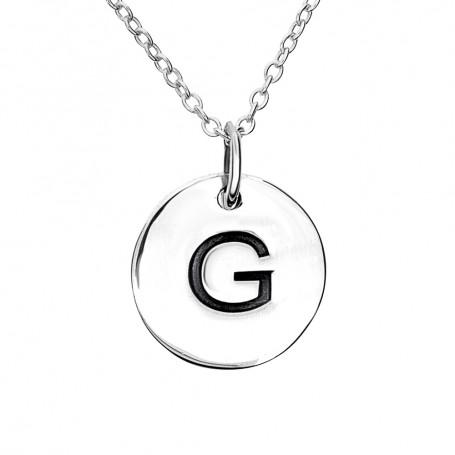 Halsband med bokstav G 1-25-0058K  Halsband 36cm till 50cm 299,00kr