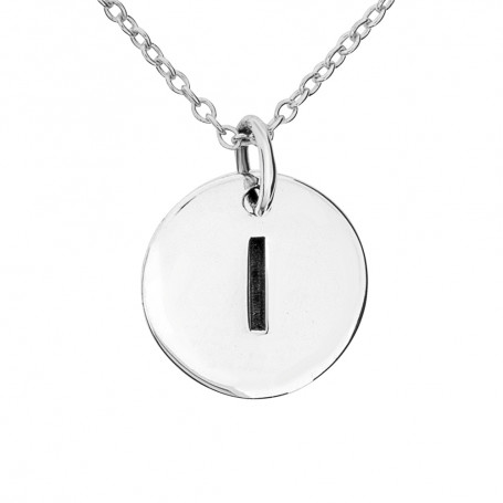 Halsband med bokstav I 1-25-0060K  Halsband 36cm till 50cm 299,00kr
