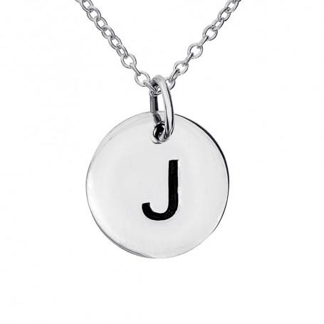 Halsband med bokstav J 1-25-0061K  Halsband 36cm till 50cm 249,00kr