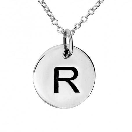 Halsband med bokstav R 1-25-0068K  Halsband 36cm till 50cm 299,00kr