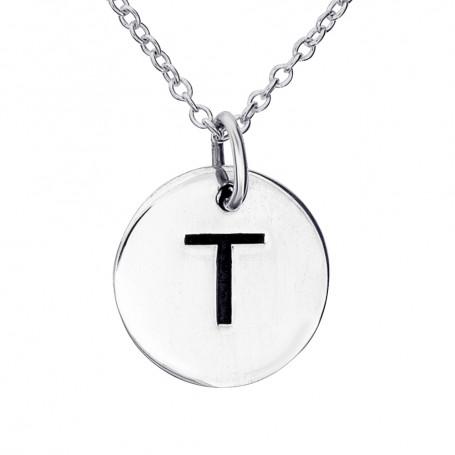 Halsband med bokstav T 1-25-0070K  Halsband 36cm till 50cm 289,00kr