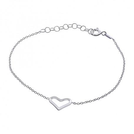Armband med hjärta 1-40-0005  Hem 199,00kr