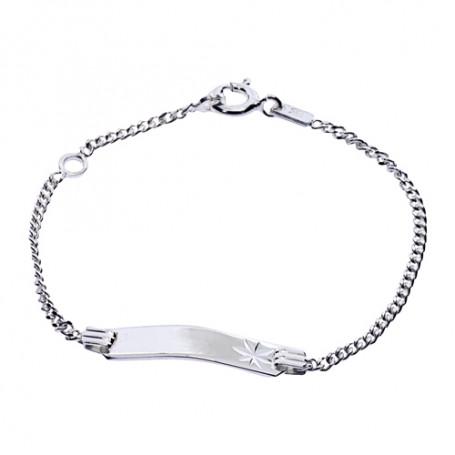 Armband med platta 1-40-0008  Hem 349,00kr