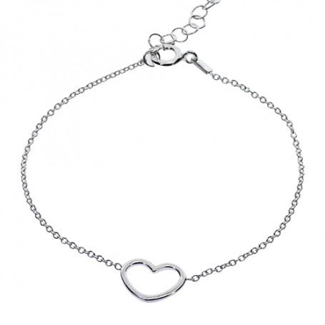 Armband med hjärta 1-40-0014  Hem 199,00kr