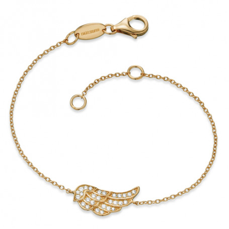 Engelsrufer guldförgyllt armband ERB-GLILWINGZ Engelsrufer Hem 750,00kr