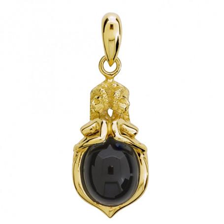 Emmahänge mellan 18K guld onyx ZEHMonyx_18K Zorn Jewellery Hem 13,995.00