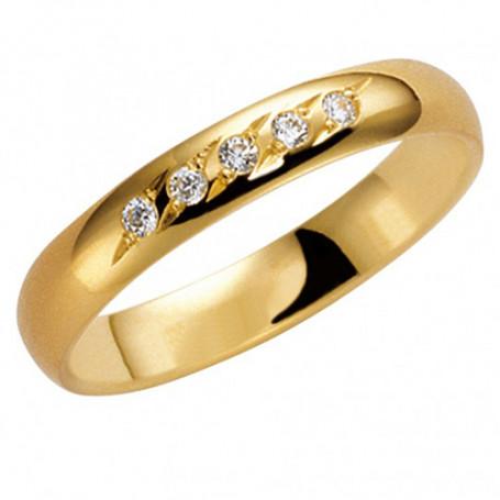 Förlovningsring Vigselring 14K 203-3,5 2.5 14K 203-3,5 2.5 Schalins Schalins ringar 4,644.00