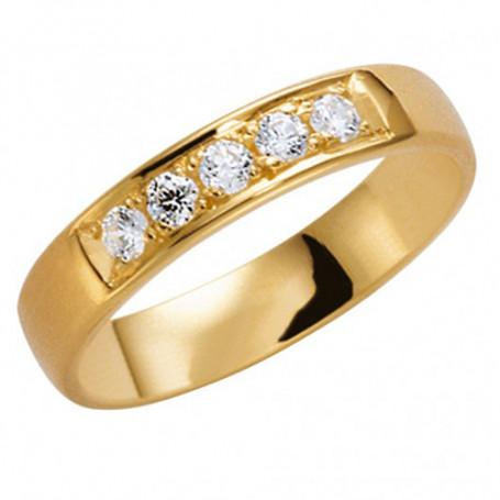 14K 210-4 5.5 Förlovningsring Vigselring  14K 210-4 5.5 Schalins Schalins ringar 7,561.00