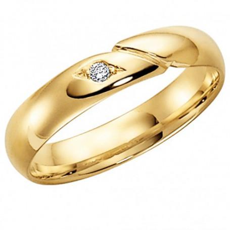 14K 216-4 2.1 Förlovningsring Vigselring  14K 216-4 2.1 Schalins Schalins ringar 2,814.00