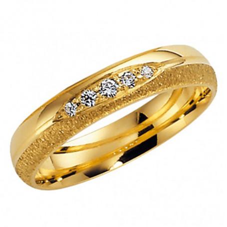 14K 255-4 9.5 Förlovningsring Vigselring  14K 255-4 9.5 Schalins Schalins ringar 5,049.00