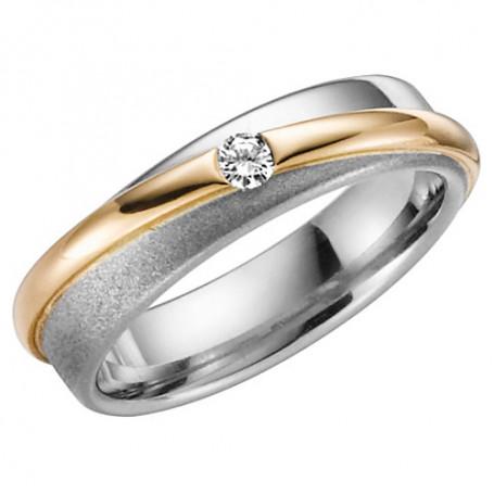 14K ROM ALL R/V Förlovningsring Vigselring 14K ROM ALL  R/V Schalins Schalins ringar 6,840.00