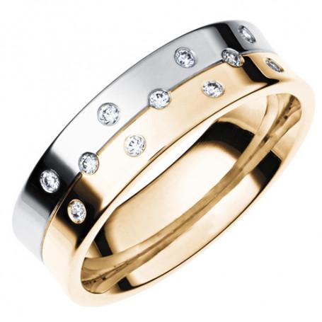 14K SPLIT ALL R/V Förlovningsring Vigselring 14K SPLIT ALL  R/V Schalins Schalins ringar 8,777.00