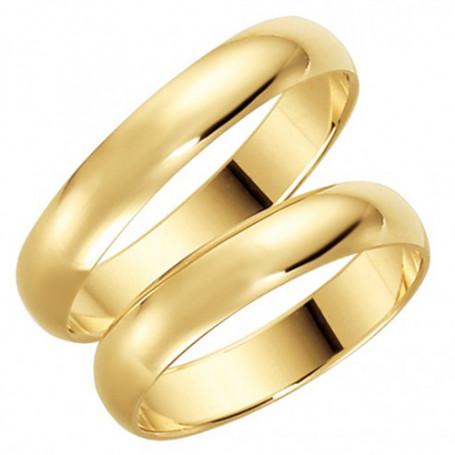 14K22-4 Förlovningsring Vigselring  14K22-4 Schalins Schalins ringar 2,162.00