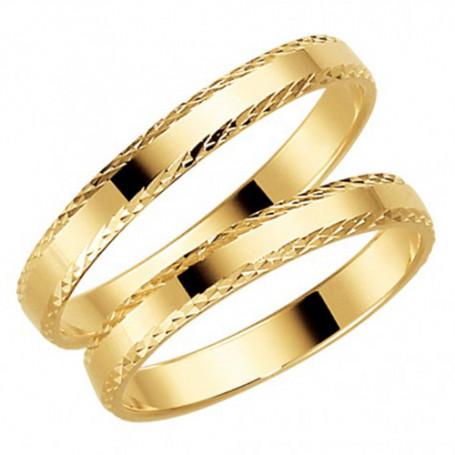14K24-3 Förlovningsring Vigselring  14K24-3 Schalins Schalins ringar 1,851.00
