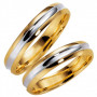 14K261-4 R/V Förlovningsring Vigselring  14K261-4  R/V Schalins Schalins ringar 2,939.00
