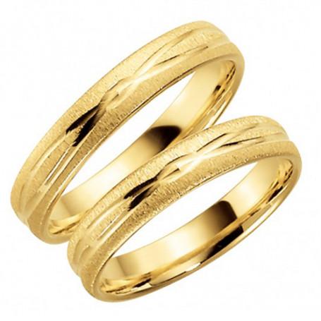 14K282-4 Förlovningsring Vigselring  14K282-4 Schalins Schalins ringar 2,755.00