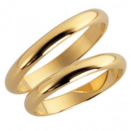 14K46-3 Förlovningsring Vigselring  14K46-3 Schalins Schalins ringar 2,063.00