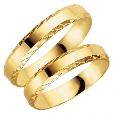 14K61-4 Förlovningsring Vigselring  14K61-4 Schalins Schalins ringar 2,599.00
