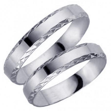 14K61-4VG Förlovningsring Vigselring  14K61-4VG Schalins Schalins ringar 3,485.00