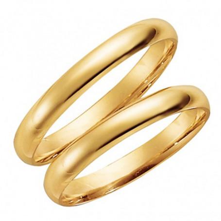 14K81-3 Förlovningsring Vigselring  14K81-3 Schalins Schalins ringar 1,963.00