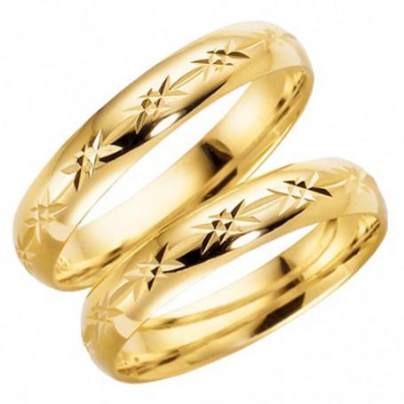 14K91-4 Förlovningsring Vigselring  14K91-4 Schalins Schalins ringar 2,449.00