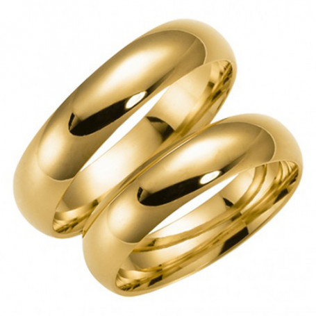 14K92-5 Förlovningsring Vigselring  14K92-5 Schalins Schalins ringar 3,210.00