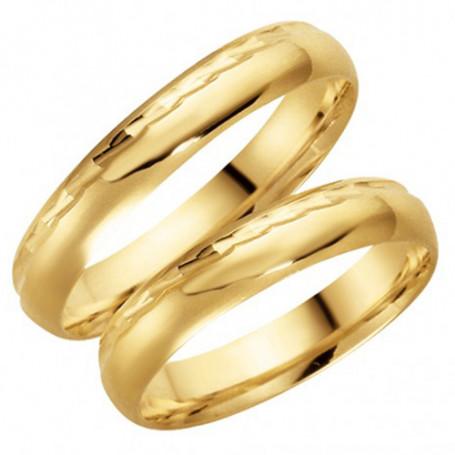14K93-4 Förlovningsring Vigselring  14K93-4 Schalins Schalins ringar 2,549.00