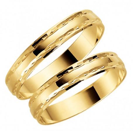 9K1000-3,5 Förlovningsring Vigselring  9K1000-3,5 Schalins Schalins ringar 909,00kr