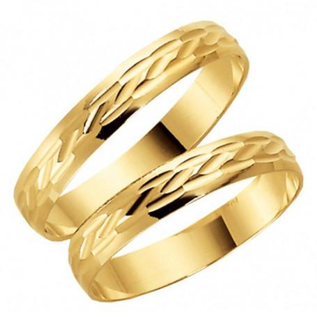 9K1005-3,5 Förlovningsring Vigselring  9K1005-3,5 Schalins Schalins ringar 909,00kr