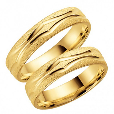 9K281-5 Förlovningsring Vigselring  9K281-5 Schalins Schalins ringar 2,129.00