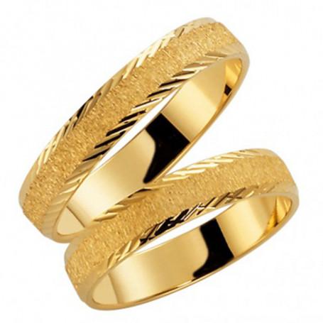 9K39-4 Förlovningsring Vigselring  9K39-4 Schalins Schalins ringar 1,435.00