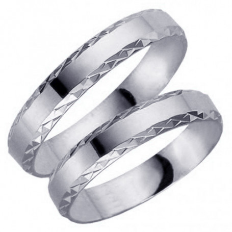 9K61-4VG Förlovningsring Vigselring  9K61-4VG Schalins Schalins ringar 2,150.00
