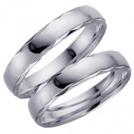 9K62-4VG Förlovningsring Vigselring  9K62-4VG Schalins Schalins ringar 2,113.00