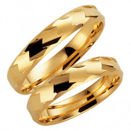9K76-4 Förlovningsring Vigselring  9K76-4 Schalins Schalins ringar 1,463.00