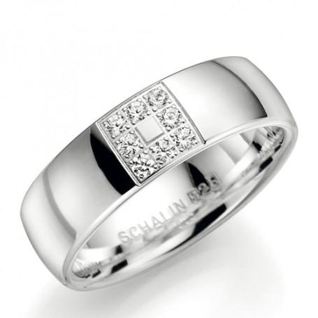 si2507-7 Förlovningsring Vigselring si2507-7 Schalins Schalins ringar 1,317.00